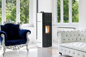 Fonte Flamme chauffage bois poele granules axe 6