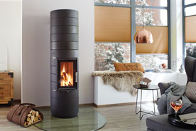 Fonte Flamme chauffage bois Colona 1