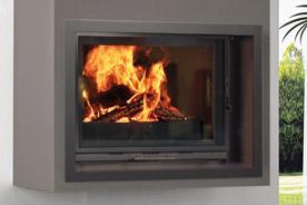 FF Insert cheminee cadre basic escamo