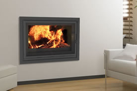 FF Insert cheminee cadre eco