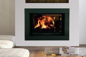 FF Insert cheminee cadre pierre karbon