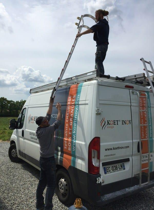 Koet Inov Plouay chantier