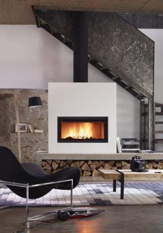 LORFLAM foyer insert bois VS120 2