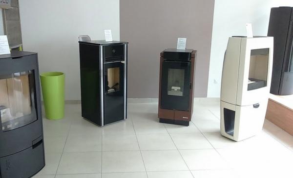 Magasin expo poeles Koet Inov Plouay