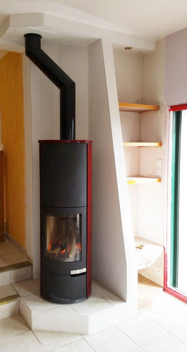 Poele a bois LORFLAM reno cheminee Ofen A8
