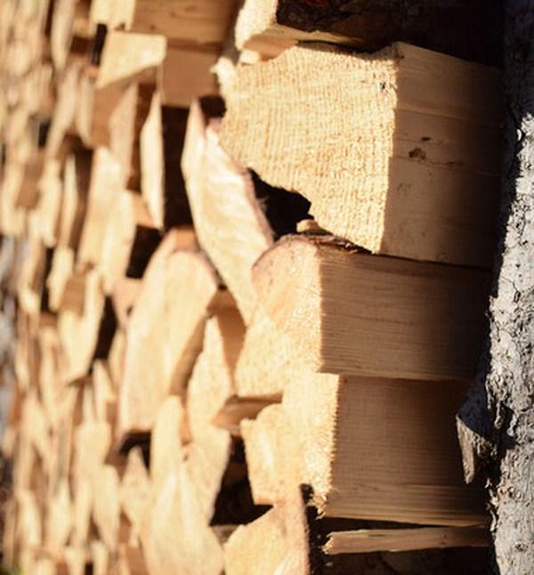 Stockage bois chauffage poele a bois